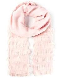 Bufanda de algodón rosada de Dondup