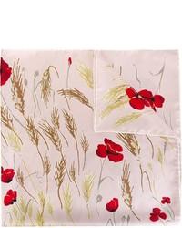 Bufanda de Flores Rosada de Valentino