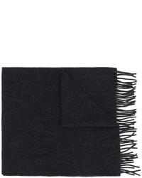 Bufanda de lana azul marino de A.P.C.
