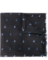 Bufanda de lana azul marino de Bellerose