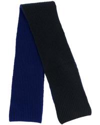 Bufanda de lana azul marino de Marni