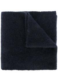 Bufanda de lana azul marino de Roberto Collina