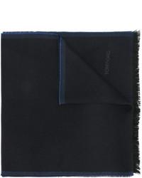 Bufanda de lana azul marino de Tom Ford