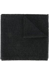 Bufanda de lana de punto negra de Dolce & Gabbana