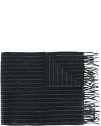 Bufanda de lana en gris oscuro de Polo Ralph Lauren