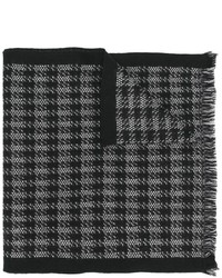 Bufanda de lana negra de Canali