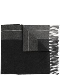Bufanda de lana negra de Pringle