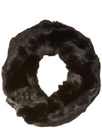 Bufanda de pelo negra de Badgley Mischka