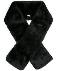 Bufanda de Pelo Negra de Carven