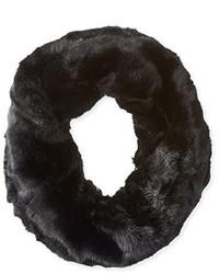 Bufanda de pelo negra de La Fiorentina
