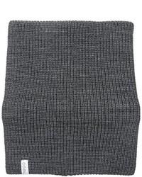 Bufanda de punto en gris oscuro de Coal