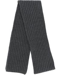 Bufanda de punto en gris oscuro de Neil Barrett
