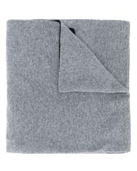 Bufanda de punto gris de Moschino