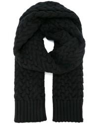 Bufanda de punto negra de Dolce & Gabbana