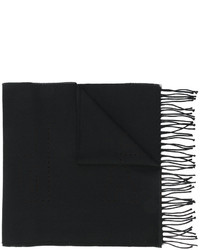 Bufanda de punto negra de Givenchy