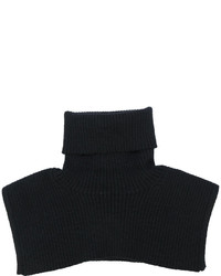 Bufanda de punto negra de MM6 MAISON MARGIELA