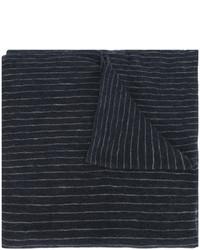 Bufanda de rayas verticales azul marino de Isabel Marant