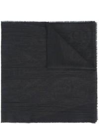 Bufanda de Seda Negra de Etro