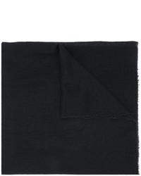 Bufanda de Seda Negra de Faliero Sarti