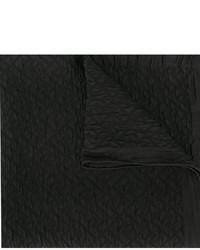 Bufanda de Seda Negra de Fendi