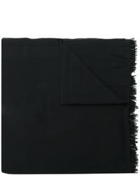 Bufanda de seda negra de Valentino Garavani