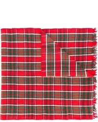 Bufanda de tartán roja de Polo Ralph Lauren