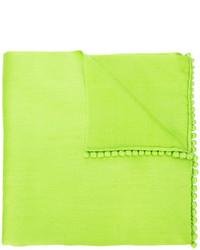 Bufanda en amarillo verdoso de Bajra