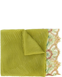 Bufanda en amarillo verdoso de Valentino Garavani