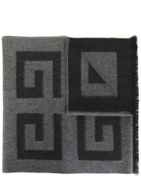 Bufanda en gris oscuro de Givenchy