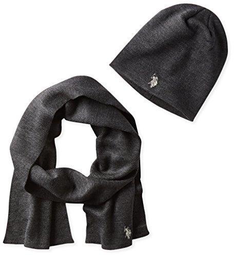 Bufanda en gris oscuro de U.S. Polo Assn.