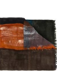 Bufanda en marrón oscuro de Faliero Sarti