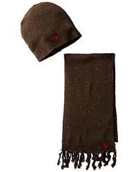 Bufanda en marrón oscuro de U.S. Polo Assn.
