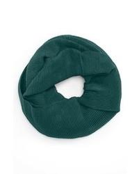 Bufanda en verde azulado