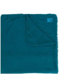Bufanda en verde azulado de M Missoni