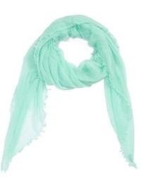 Bufanda en verde menta