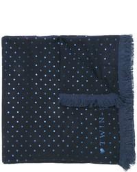 Bufanda Estampada Azul Marino de Twin-Set