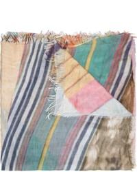 Bufanda estampada en multicolor de Figue