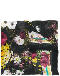 Bufanda estampada negra de Dolce & Gabbana