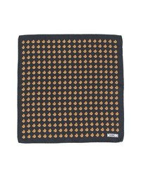 Bufanda estampada negra de Moschino