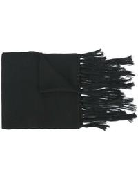 Bufanda estampada negra de Y-3