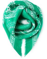 Bufanda estampada verde de Etro