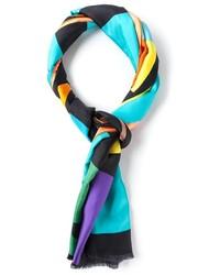 Bufanda Geométrica Multicolor de Pierre Louis Mascia