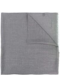 Bufanda gris de Salvatore Ferragamo