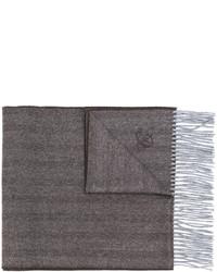 Bufanda marrón de Canali