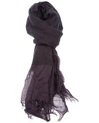 Bufanda morado oscuro de Faliero Sarti