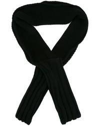 Bufanda negra de Chalayan