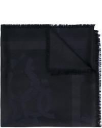 Bufanda Negra de Salvatore Ferragamo