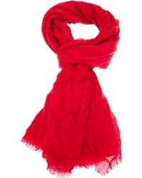 Bufanda roja de Faliero Sarti