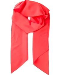 Bufanda roja de Lanvin