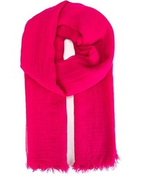 Bufanda rosa de Faliero Sarti
